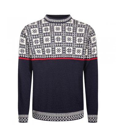 Pánský vlněný svetr Tyssøy Sweater Dale