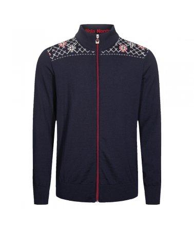 Pánský nadčasový vlněný svetr Trondheim Masc Jacket Dale