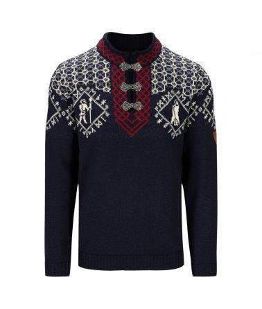 Pánský tradiční vlněný svetr Hodur Masculine Sweater Dale