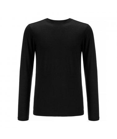 Pánské vlněné triko s dlouhým rukávem BaseOne We Norwegians
