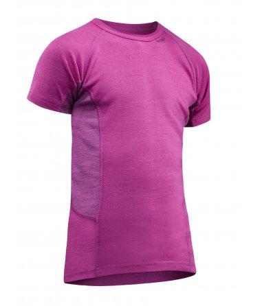 Multi Sport Triko kr. rukáv, růžové, Devold
