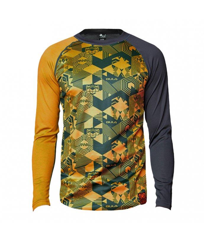 Pánské vlněné  triko s dlouhým rukávem Tikitech Crew