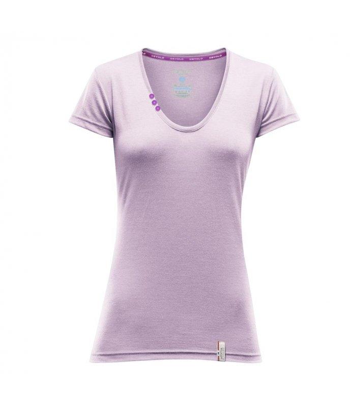 DEVOLD® SUKKERTOPPEN WOMAN, tričko skrátkým rukávem, dámské