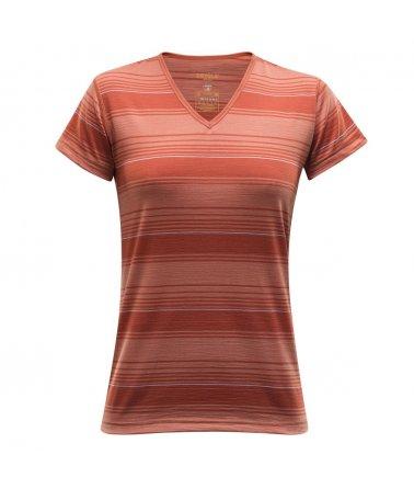 DEVOLD® BREEZE WOMAN T-shirt V-neck, tričko skrátkým rukávem, dámské