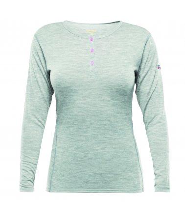 Devold Breeze woman button shirt, triko, dámské
