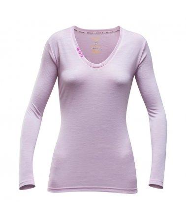 DEVOLD® SUKKERTOPPEN WOMAN shirt, triko sdlouhým rukávem, dámské