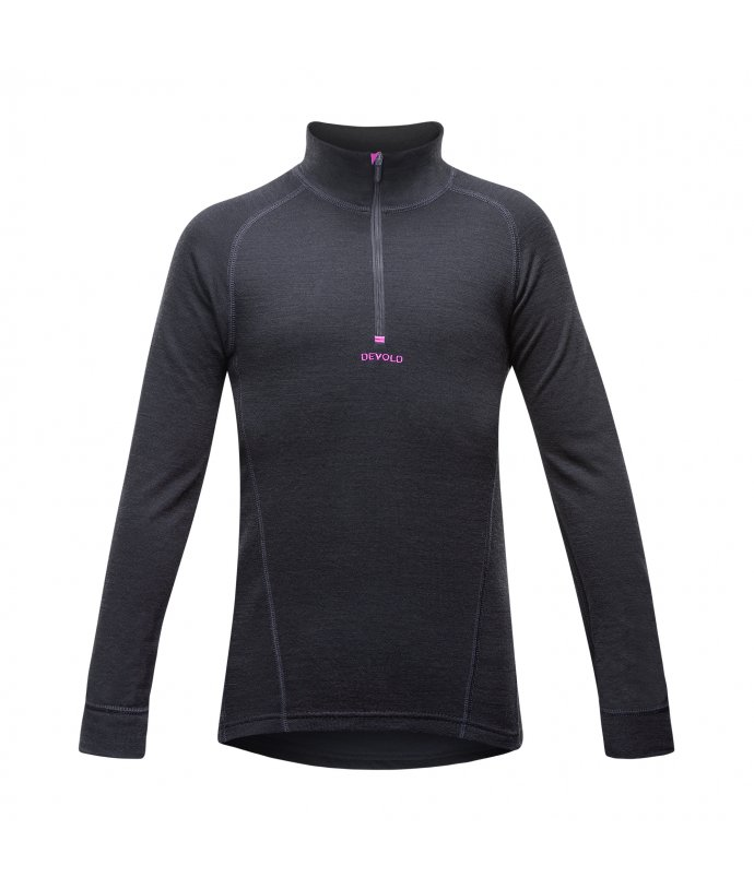 DEVOLD DUO ACTIVE JUNIOR HALF ZIP NECK, rolák, dětský