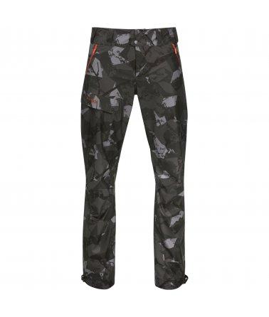 Voděodolné lovecké maskované kalhoty Bergans Hogna Camo 2L Pnt