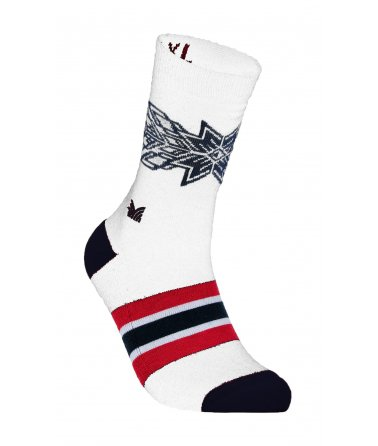 Vzorované vlněné ponožky OL Spirit Socks