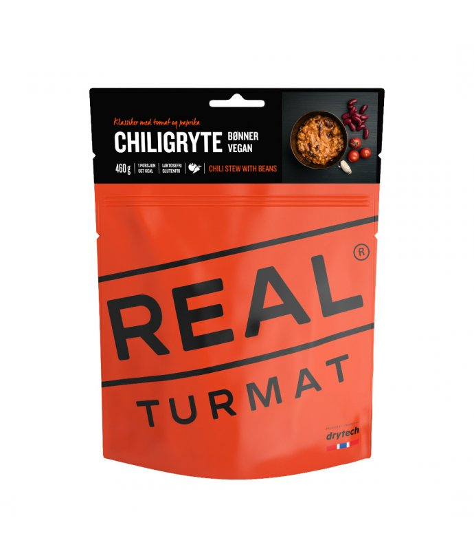 Real Turmat, Chili Stew with beans (VEGAN) - Chilli fazole