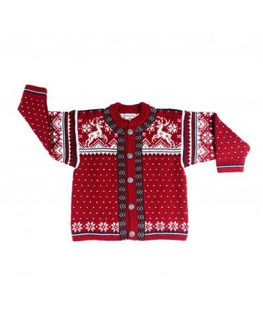 Dětský vlněný svetr Finnmarks Vidda Dale