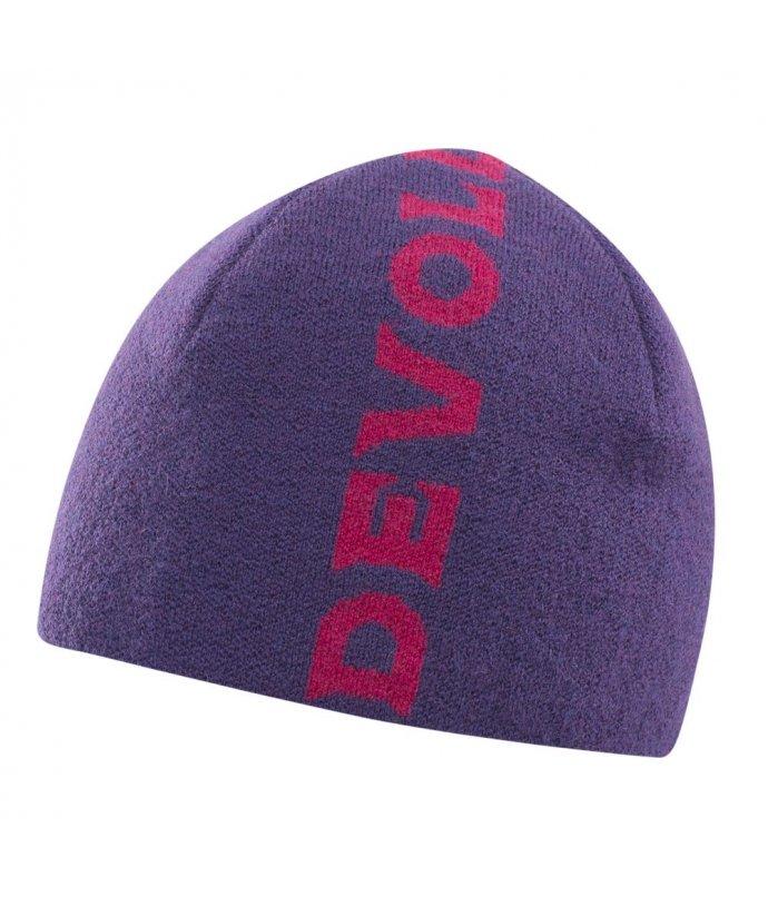 Teplá sportovní vlněná čepice Devold Milling