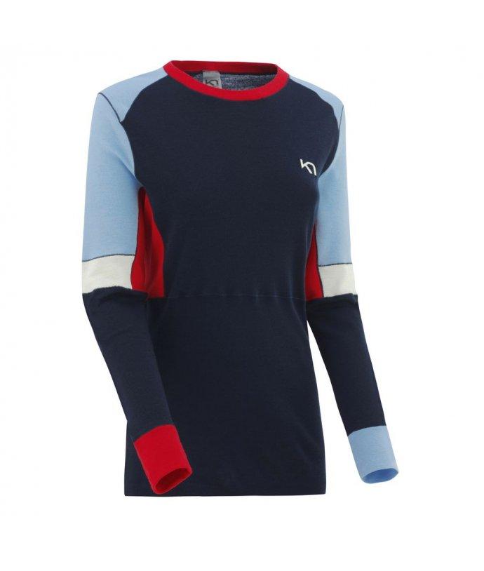 Dámské vlněné triko s dlouhým rukávem Kari Traa Yndling