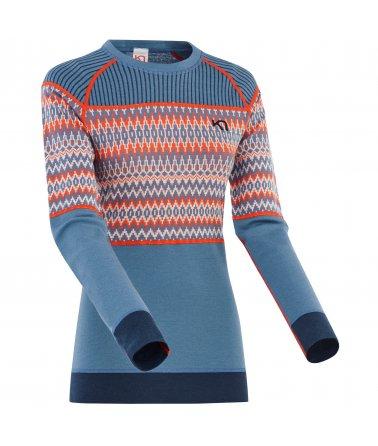 Dámské Merino triko s dlouhým rukávem Kari Traa Silja LS