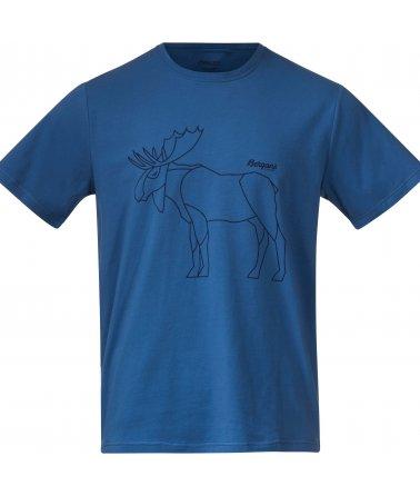 Pánské bavlněné tričko s krátkým rukávem Bergans Graphic Tee