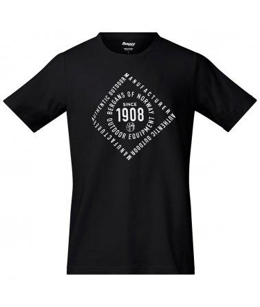 Pánské triko s krátkým rukávem Bergans 1908