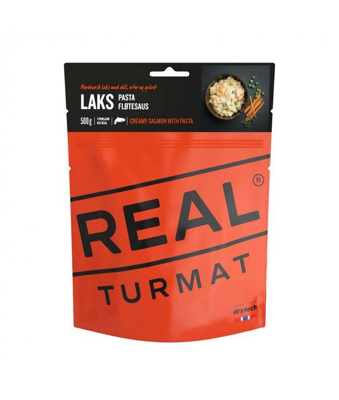 Real Turmat - Losos s těstovinami ve smetanové omáčce