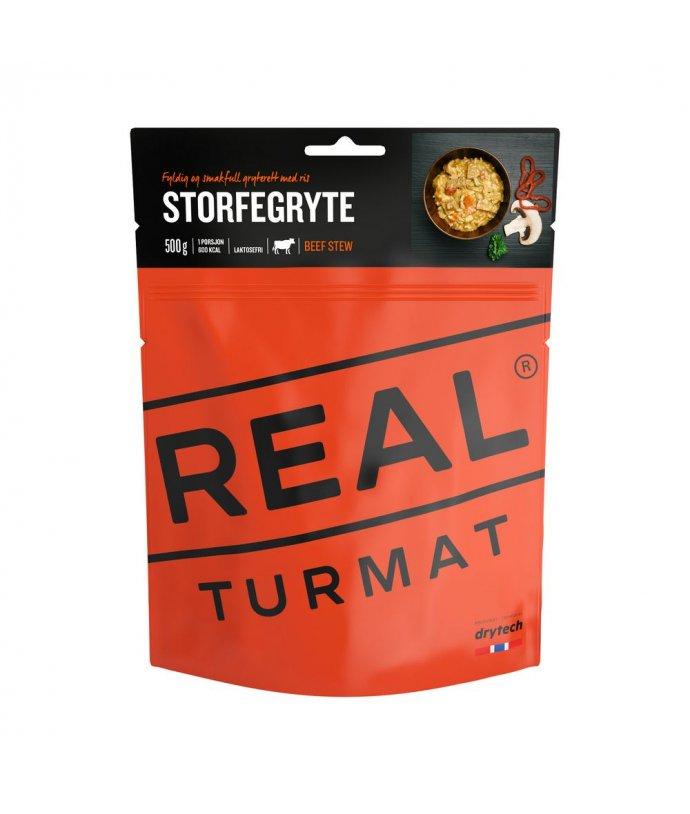 Real Turmat - Hovězí na houbách s rýží