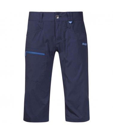 Dámské ¾ lehké outdoorové rychleschnoucí kalhoty Bergans Utne Lady Pirate Pants