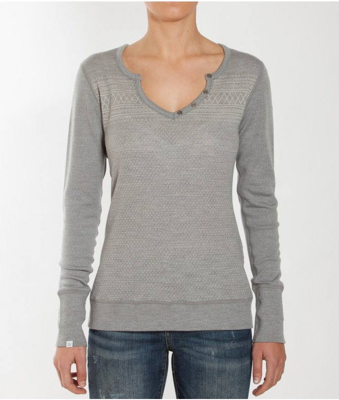 Dámský vlněný svetr Setesdal Henley Women