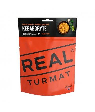 Real Turmat - Kebab s kuřecím masem a rýží