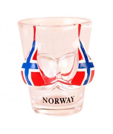 Panáková sklenička Norway