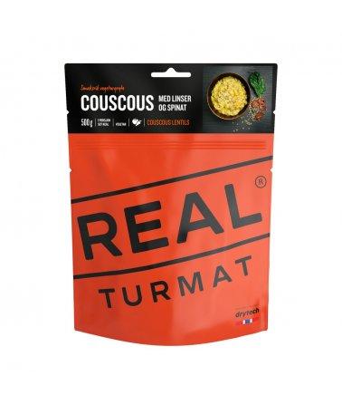 Real Turmat, CouscousLentils, 121 g