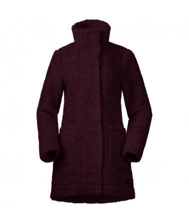 Dámský vlněný kabátek Bergans Oslo Wool LooseFit W Jkt