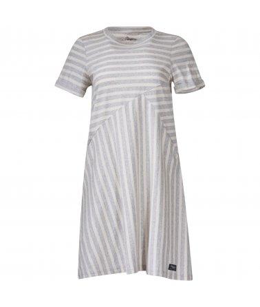 Dámské šaty z recyklované bavlny Bergans Oslo Re-Cotton Dress