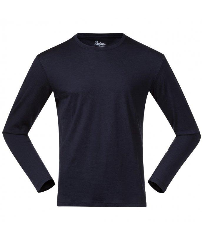 Pánské triko s dlouhým rukávem Bergans Oslo Wool Long Sleeve