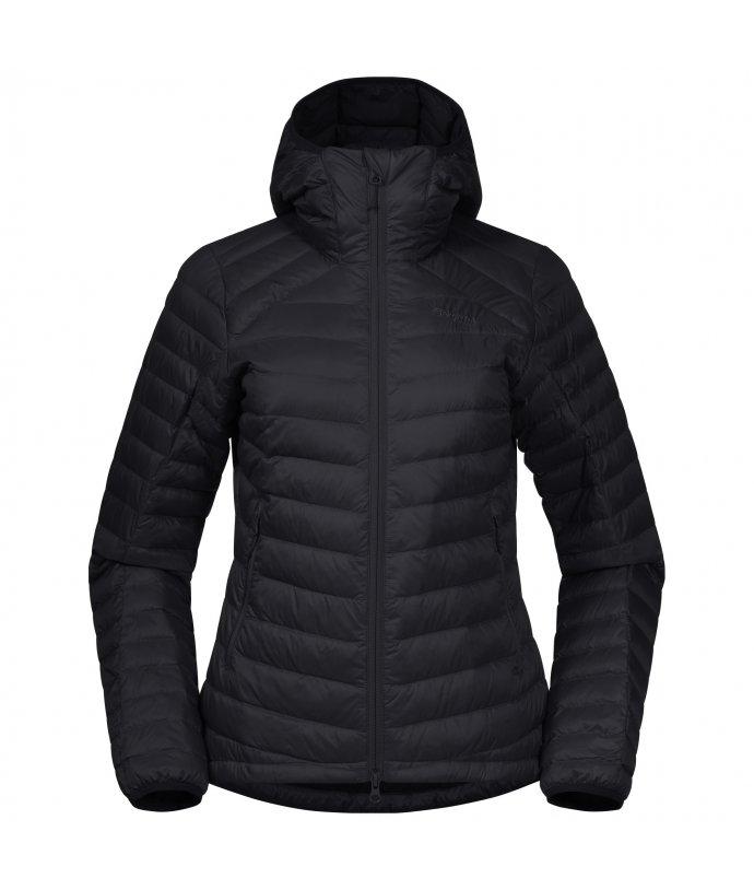 Dámská lehká péřová bunda Bergans Røros Down Light W Jacket w/Hood