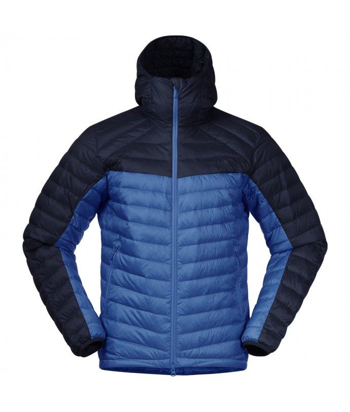 Pánská lehká péřová bunda Roros Down Light Jacket w/Hood