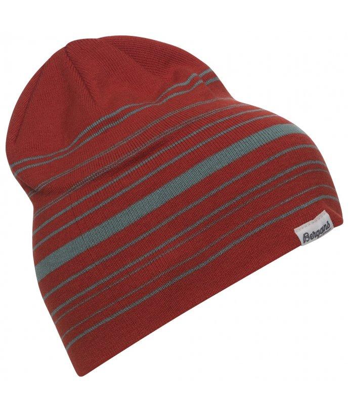 Vlněná čepice Bergans Striped Beanie