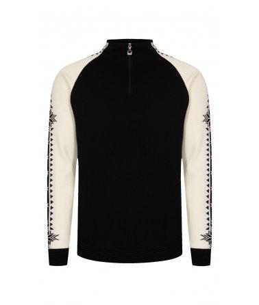 Pánský nadčasovým vlněný svetr  Geilo
