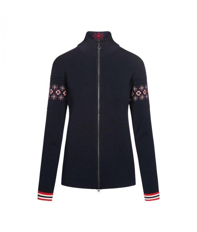Dámský vlněný svetr Dale Monte Cristallo Fem Jacket