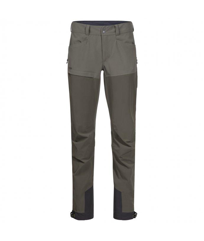 Dámské softshellové kalhoty Bergans Bekkely Hybrid W Pnt