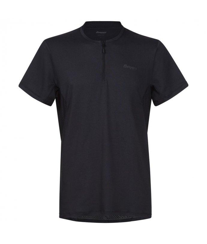 Floyen Half Zip SS, pánské lehké triko s krátkým zipem