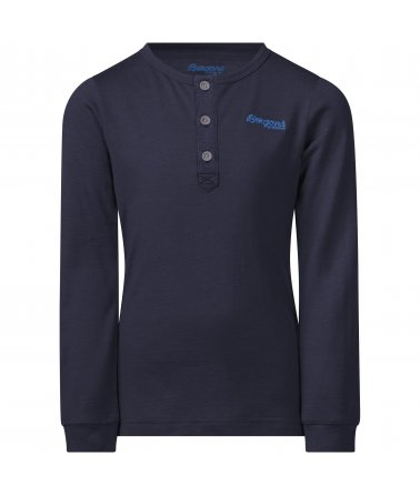 Dětské Merino triko s dlouhým rukávem Bergans Myske Wool Kids Shirt