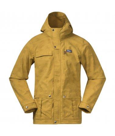 Pánská prodloužená outdoorová bunda Bergans Nordmarka Jacket