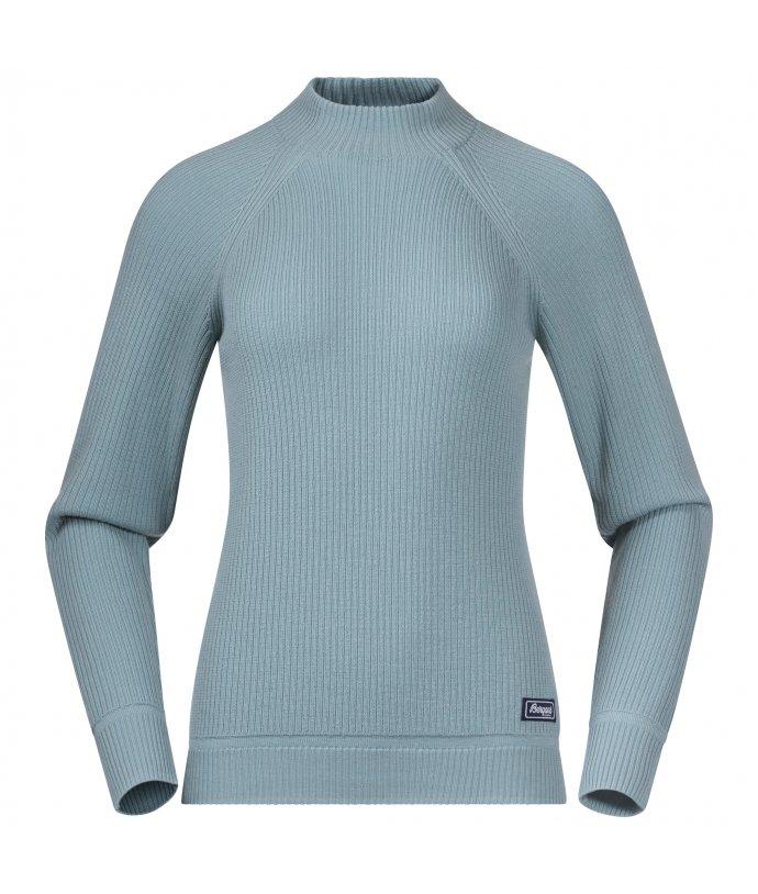 Dámský lehký svetr z Merino Bergans Solli Wool W Sweater