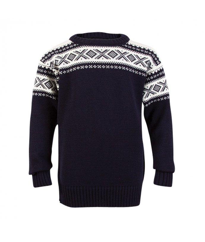 Dětský exkluzivní vlněný norský svetr Dale Cortina