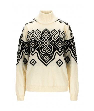 Dámský modní vlněný svetr Dale Falun Heron Fem Sweater