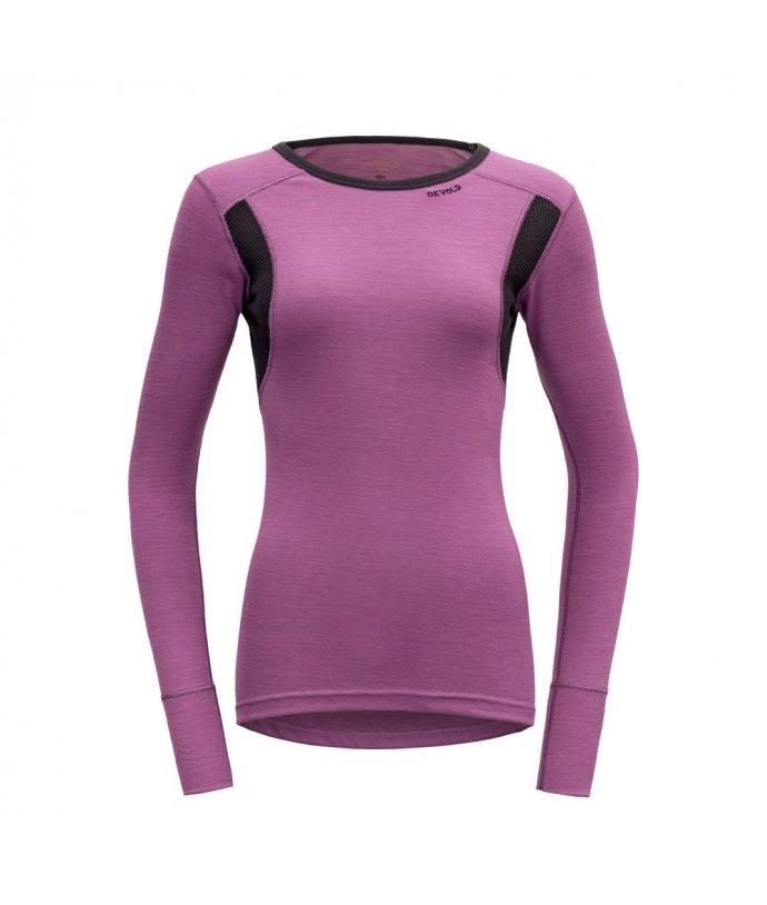 Dámské sportovní lehké vlněné tričko s dlouhým rukávem Devold Hiking