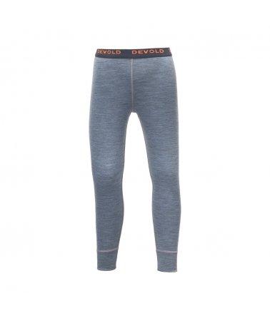 Dětské pohodlné vlněné kalhoty Devold Breeze