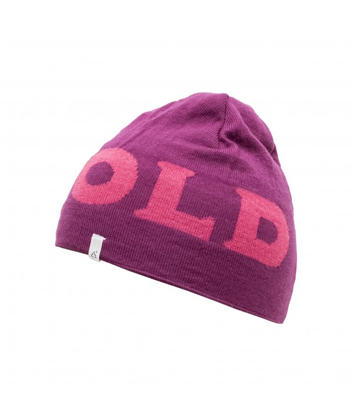 Dětská stylová barevná vlněná čepice Devold Logo