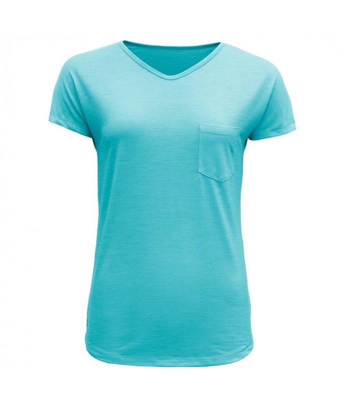 Vlněné tričko s krátkým rukávem Devold Herdal