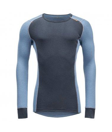 Prodyšné vlněné tričko s dlouhým rukávem Devold wool Mesh