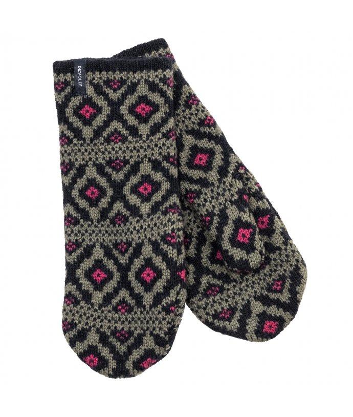 Dámské stylové vlněné rukavice Devold Ona