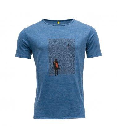 Vlněné tričko s krátkým rukávem Devold Hoddevika