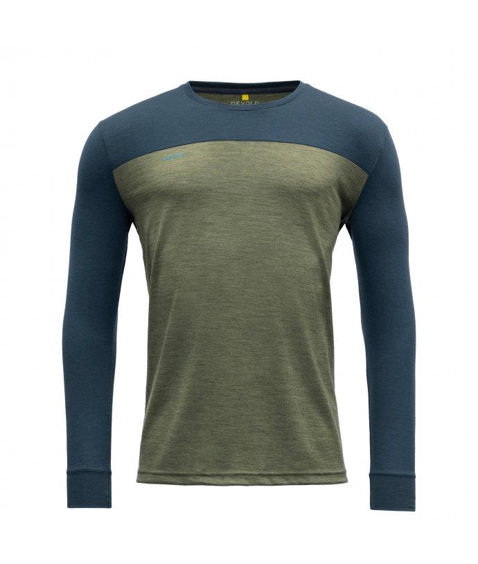 Pánské tričko s dlouhým rukávem Devold Norang